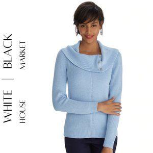 WHITE HOUSE BLACK MARKET Cowl Neck Pullover, M